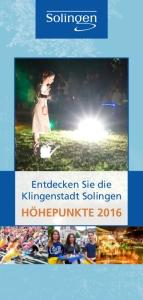 Broschüre Entdecken Sie Solingen 2016_eBook